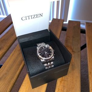 Citizen's watch with swarvoski crystals